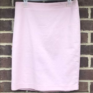 Adrianna Papell soft pink pencil skirt